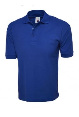 Uneek UC112 Cotton Rich Polo Shirt (XSmall To 4XL) 6 COLOURS