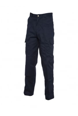 Uneek UC904 Cargo Trousers With Knee Pad Pockets Navy