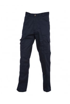 Uneek UC903 Action Work Trousers Navy (Zipped Pockets)