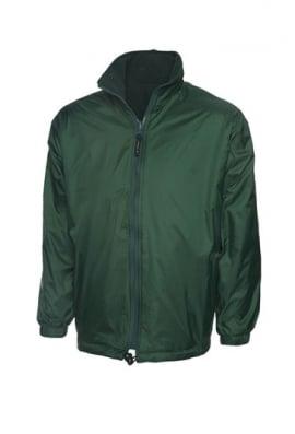 Uneek UC605 Premium Reversible Fleece Jacket (Xsmall to 3XLarge) 4 COLOURS