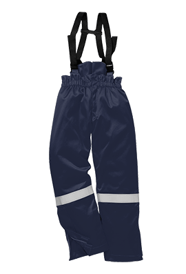 Portwest FR58 Flame Resistant Anti-Static Winter Salopettes (Small To 3XL)