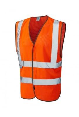 Leo Workwear W04-O Arlington Coolviz Waistcoat (SMALL to 6XL)