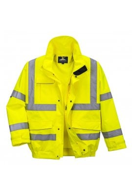 Portwest S591 Hi Vis  Bomber Jacket (Breathable) (Small To 4XL)