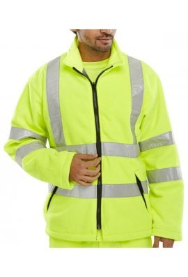 Beeswift CARF Hi-Visibility Carnoustie Fleece Zips Into Carnoustie Jacket (Small To 4XL)