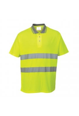 Portwest S171 55% Cotton 45% Polyester Comfort Polo Shirt (Small To 3XL)