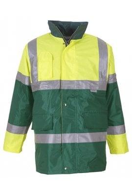 Yoko YK047 Hivis Contrast Jacket (SmallTo3XL)