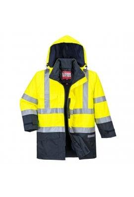 Portwest S779 - Bizflame Rain Hi-Vis Multi-Protection Jacket (Small to 3Xlarge)