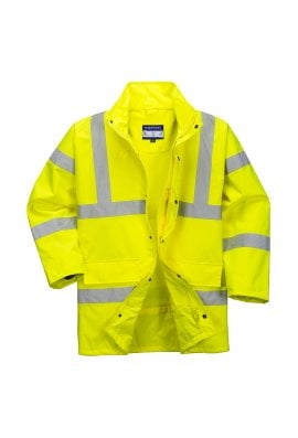 Portwest RT60 Hi-Vis Breathable Jacket (Class 3) (Small To 3XL)