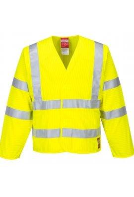Portwest FR85 - Hi-Vis Anti Static Jacket - Flame Resistant
