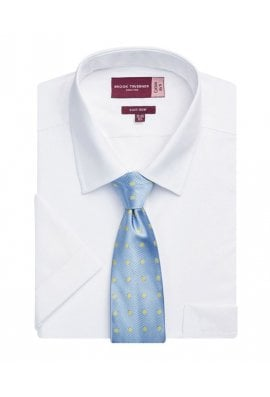 """Brook Taverner BR095 Rosello Short Sleeve Shirt (Collar size 15.0"""" To 19.0"""") 2 COLOURS"""