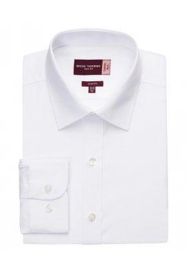 Brook Taverner BR110 Alba Cotton Rich Slim Fit Shirt  (Collar size 14.5 To 18.0)  3 COLOURS