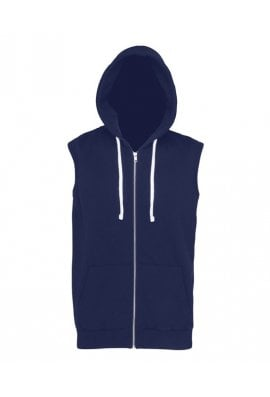 AWD is Hoods JH057 Sleeveless Zipped Hoodie  (Small to 2xl)  4 COLOURS
