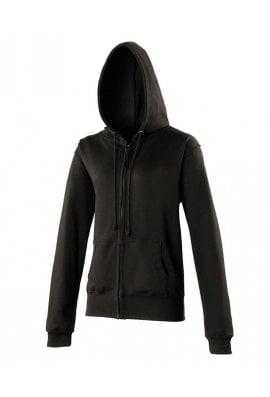 AWD is Hoods JH055 Ladies Fit Full Zip Hoodie  (XSmall to XLarge) 8 COLOURS