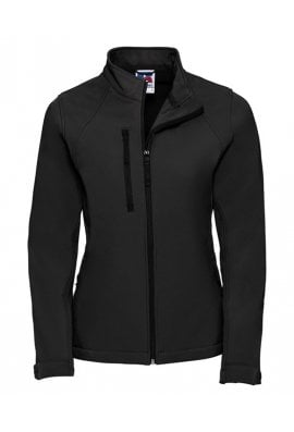 Russell J140F Ladies Fit  Softshell Jacket (Xsmall to 3XLarge) 6 COLOURS