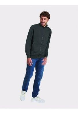Uneek UC512 Full Zipped Sweat Jacket (XSMall tp 2XLarge) 5 COLOURS