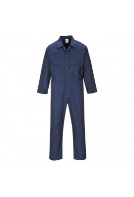 Portwest C813T PortWest Zip Fronted Boilersuit  Tall Leg (Small to 3XLarge)