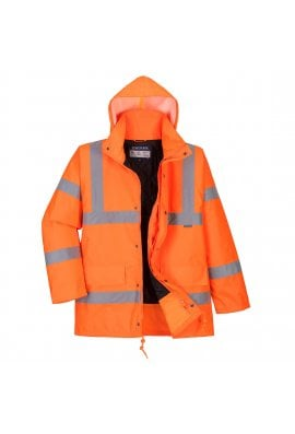 Portwest RT34 Hi-Vis Breathable Jacket GO/RT (Small To 2XL)