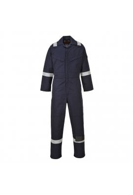 Portwest FR50 Flame Resistant Anti-Static Coverall  (Small To 6XL)