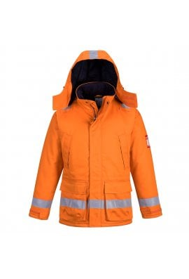 Portwest FR59 Flame Resistant Anti-Static Winter Jacket (Small To 3XL)