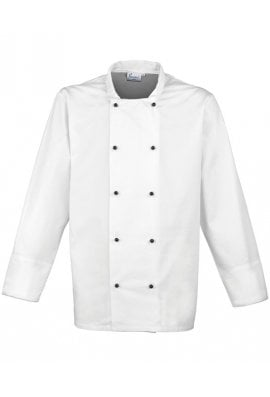 Premier PR661 Cuisine Long Sleeve Chefs Jacket