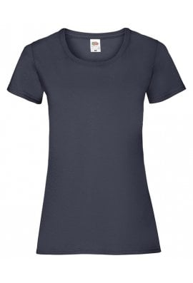 Fruit Of The Loom SS050 Ladies-Fit ValueWeight T-Shirt (XSmall To 2XL) 14 Colours