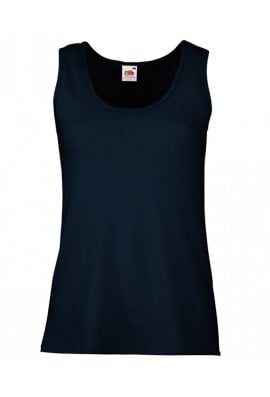Fruit Of The Loom SS051 Lady-Fit Valueweight Vest (XSmall To 2XL) 5 COLOURS