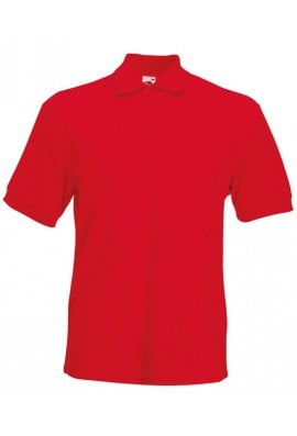 Fruit Of The Loom SS204 Heavyweight Polo 65/35 Polycotton (Small to 3XLarge) 9 COLOURS
