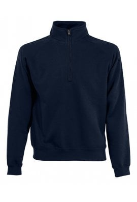 Fruit Of The Loom SS830 Premium 1/4 Zip Neck Sweat (Small to 2Xlarge) 7 COLOURS