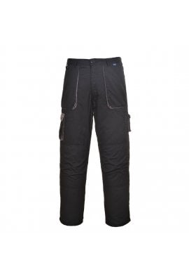 Portwest TX11BL Texo Contrast Combat Trousers Black (XSmall to 3XLarge)