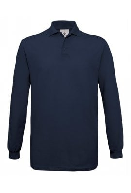 B&C Collection B301L Safran Long Sleeved (Small To 3XL) 5 COLOURS