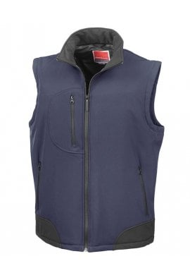 Result R123A Softshell Bodywarmer (Small to 2XLarge) 5 COLOURS