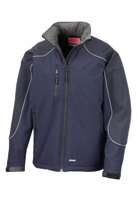 Result R118A Hooded Softshell Jacket (Xsmall to 3XLarge) 4 COLOURS