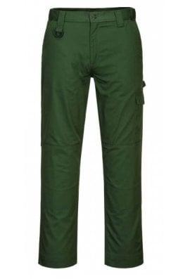 Portwest CD884 - Super Work Combat Trouser Forest Green  (28 to 48 Waist)