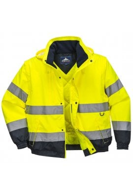 Portwest C468 - HI-Vis 2-in-1 Jacket  (Small to 3XLarge)