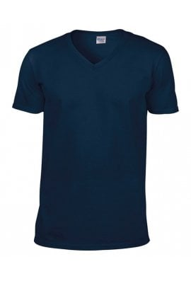Gildan GD010 Softstyle V-neck T-shirt (Small To 2XL) 9 COLOURS