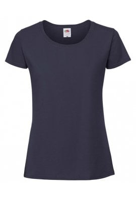Fruit Of The Loom SS424  Ladies Fit  Ring Spun Premium T-Shirt (XSmall to 2XLarge) 7 COLOURS