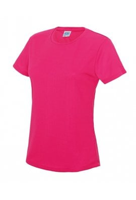 AWD is Hoods JC005 Ladies Fit Cool T-shirt (XSmall To 2XL) 12 COLOURS