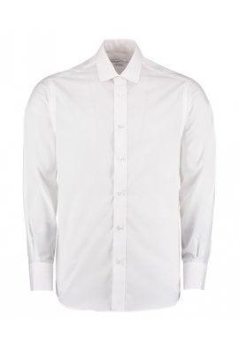 Kustom Kit KK131 Tailored Buisness Long Sleeved Shirt  (Collar Size 14.5 To 18.5) 3 COLOURS