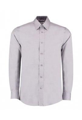 Kustom Kit KK189 Contrast Premium Oxford Long Sleeved Shirt  (S To 2XL)  2 COLOURS
