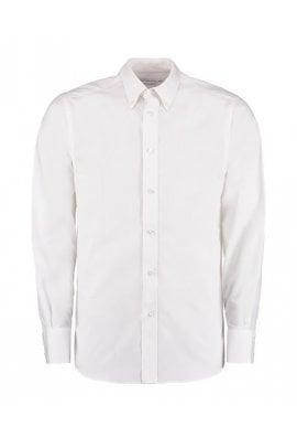 Kustom Kit KK386 City Business Long Sleeved Shirt  (Collar Size 14.5 To 19.5) 3 COLOURS