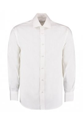 Kustom Kit KK118 Superior Oxford Long Sleeved Shirt  (Collar Size 15.0 To 18.5)  2 COLOURS