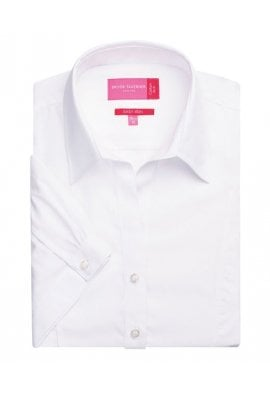 Brook Taverner BR090 Womens Paduli Short Sleeved Blouse (Size 8 To Size 20)  3 COLOURS