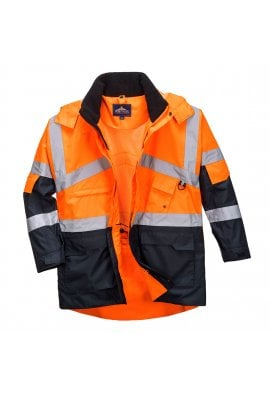 Portwest S760 Hi-Vis 2-Tone Breathable Jacket (Small To 4XL) 2 COLOURS