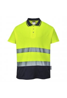 Portwest S174 - Two Tone Cotton Comfort Polo (Small to 4XLarge ) 2 COLOURS