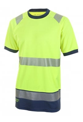 Beeswift HVTT001 Hi Vis Two Tone T Shirt (Small to 4XLarge) 2 COLOURS