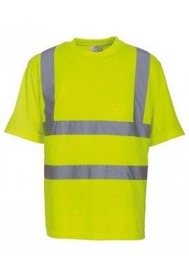 Yoko YK025 Hi-Vis Short Sleeved T-Shirt (Small To 3XL) 4 COLOURS