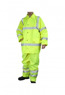 TS8 Hi Visibility Light Weight Hi Visibility Suit (Small To 6XL)
