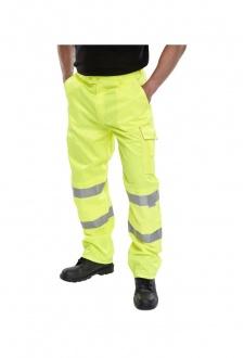 PCTEN High Way Trousers Polycotton (30 Reg To 48 Reg)