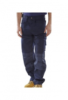 CPMPTN Navy Premium Holster Pocket Trousers (30 tp 46 Waist)