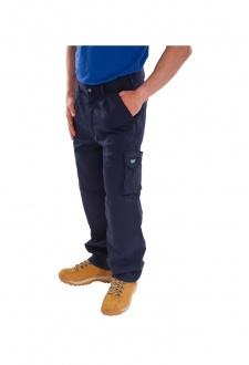 CTRANTN Navy Click Traders Newark Trousers